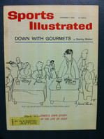 1960 Sports Illustrated November 7 Gourmets Near-Mint Plus
