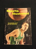 1961 Sports Illustrated January 16 Bob Cousy Good to Very Good- No Mailing Label