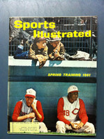 1961 Sports Illustrated March 6 Spring Training 1961 Fair to Good [Lt moisture - readable throughout]