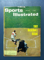1961 Sports Illustrated April 10 Baseball Preview Very Good to Excellent