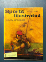 1961 Sports Illustrated April 17 Fishing Good to Very Good [Lt moisture - contents fine]