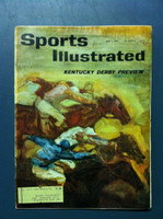 1961 Sports Illustrated May 1 Kentucky Derby Preview Good to Very Good [Lt moisture - readable throughout]