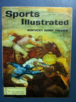 1961 Sports Illustrated May 1 Kentucky Derby Preview Very Good to Excellent