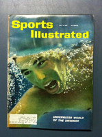 1961 Sports Illustrated July 3 Swimming Fair to Poor [Lt moisture - readable throughout]