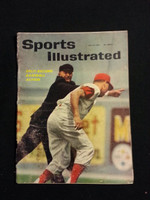 1961 Sports Illustrated July 31 Baseball's Bang Bang Plays Fair to Good- No Mailing Label