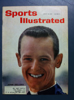 1961 Sports Illustrated August 28 John Sellers (Jockey) Excellent to Excellent Plus