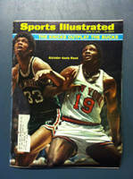 1970 Sports Illustrated April 27 Lew Alcindor and Willis Reed Very Good [Severe corner bend - contents fine]