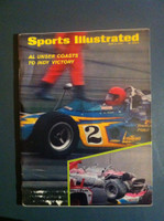 1970 Sports Illustrated June 8 Al Unser Indy Victory Excellent [Label removed]
