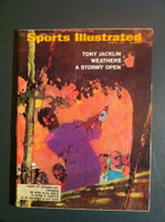 1970 Sports Illustrated June 29 Tony Jacklin Very Good