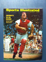 1970 Sports Illustrated July 13 Johnny Bench Excellent [Sl corner bend - contents fine]
