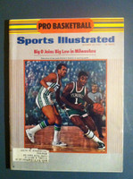 1970 Sports Illustrated October 26 Oscar Robertson Big O Joins Milwaukee Excellent