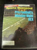 1970 Sports Illustrated November 2 Monday Night Football Excellent