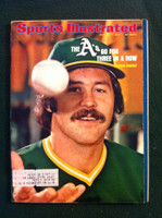 1974 Sports Illustrated Oct 7 Catfish Hunter Excellent