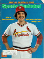 1980 Sports Illustrated April 7 Keith Hernandez Very Good to Excellent