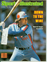 1980 Sports Illustrated October 6 Gary Carter Near-Mint