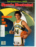 1980 Sports Illustrated October 20 Paul Westphal Excellent to Mint