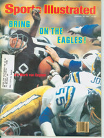 1981 Sports Illustrated January 19 Mark Van Eeghen : Bring on the Eagles Near-Mint