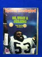1981 Sports Illustrated February 2 Rod Martin - Raiders Win Super Bowl Near-Mint