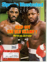 1981 Sports Illustrated June 1 Joe and Marvis Frazier Near-Mint