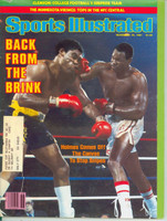 1981 Sports Illustrated November 16 Larry Holmes Very Good to Excellent