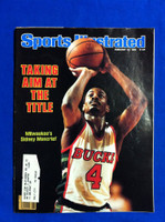 1982 Sports Illustrated February 22 Sidney Moncrief Excellent to Mint