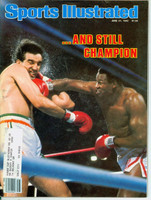 1982 Sports Illustrated June 21 Larry Holmes Excellent