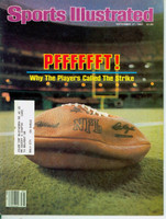 1982 Sports Illustrated September 27 Football Strike Excellent