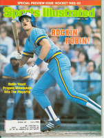 1982 Sports Illustrated October 11 Robin Yount Excellent