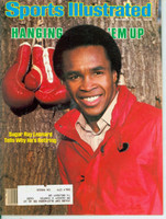 1982 Sports Illustrated November 15 Sugar Ray Leonard Excellent