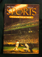 1954 Sports Illustrated August 16 Eddie Mathews Very Good