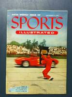 1954 Sports Illustrated September 13 Stock Car Racing Very Good [Very minor staining on cover, contents fine]