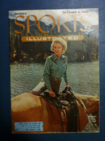 1954 Sports Illustrated October 4 Cowgirl Fashions Very Good to Excellent
