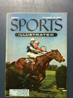 1954 Sports Illustrated October 18 Belmont Steeplechase Near-Mint [Very Clean]