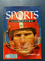 1954 Sports Illustrated November 22 Y.A. Tittle Excellent