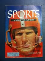 1954 Sports Illustrated November 22 Y.A. Tittle Very Good to Excellent