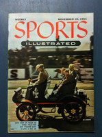1954 Sports Illustrated November 29 Car Rally Near-Mint [Very Clean]