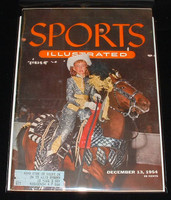 1954 Sports Illustrated December 13 KC Horse Show Excellent to Mint [Clean]