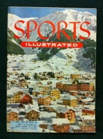 1954 Sports Illustrated December 27 Skiing in Switzerland Excellent to Mint