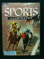 1955 Sports Illustrated January 10 Santa Anita Excellent