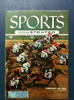 1955 Sports Illustrated February 28 Hialeah Park Excellent