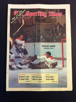 1970 Sporting News January 24 Rogie Vachon Excellent to Mint lt. center fold from mailbox, otherwise sharp