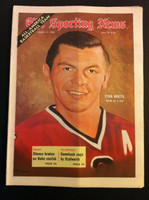 1970 Sporting News March 21 Stan Mikita Excellent to Mint lt. center fold from mailbox, otherwise sharp
