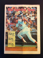 1970 Sporting News May 30 Dave Johnson Excellent to Mint lt. center fold from mailbox, otherwise sharp