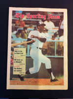 1970 Sporting News June 13 Vada Pinson Excellent to Mint lt. center fold from mailbox, otherwise sharp