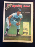 1970 Sporting News August 1 Bily Grabarkewitz Excellent to Mint lt. center fold from mailbox, otherwise sharp