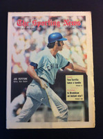 1970 Sporting News September 26 Joe Pepitone Near-Mint lt. center fold from mailbox, otherwise sharp