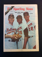 1970 Sporting News October 17 Cuellar, McNally and Palmer Excellent lt. center fold from mailbox, otherwise sharp