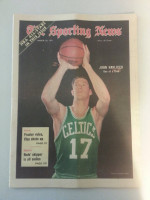 1971 Sporting News March 20 John Havlicek Excellent to Mint lt. center fold from mailbox