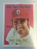 1971 Sporting News May 8 Steve Carlton Excellent to Mint lt. center fold from mailbox