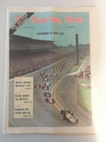 1971 Sporting News May 29 Indianapolis 500 Excellent to Mint lt. center fold from mailbox